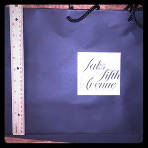 Saks gift bags